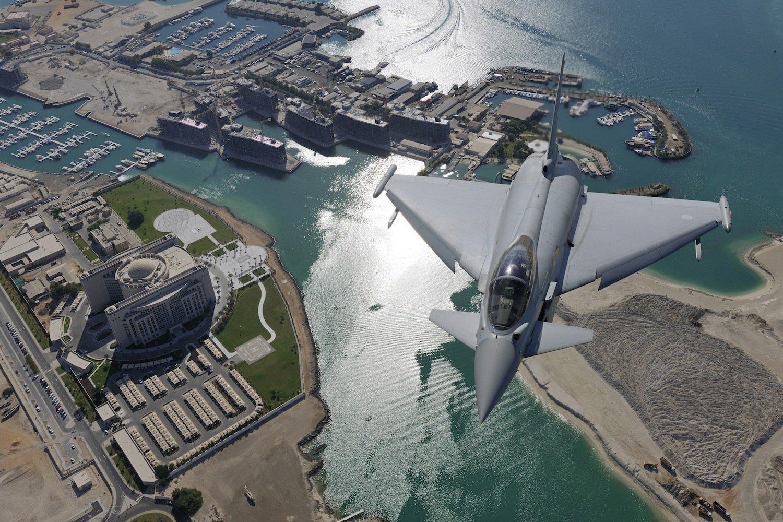 Der britisch-amerikanische Rüstungskonzern BAE System produziert unter anderem den Eurofighter Typhoon.