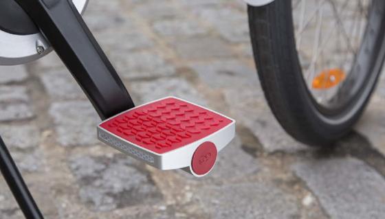 Die smarte Pedale vonConnected Cycle kann als Diebstahlschutz und Fitnesstrack genutzt werden.