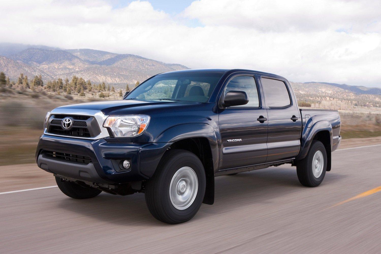 Toyota feiert auf der Detroit Motor Show die Weltpremiere des Midsize-Pickups Tacoma.