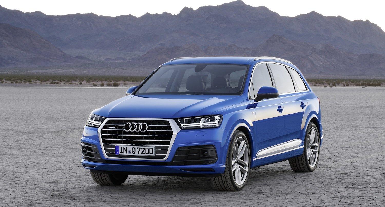 Weltpremiere: In Detroit zeigt Audi erstmals den neuen Audi Q7. Zunächst kommt der Luxus-SUV als Diesel und Benziner auf den Markt, später als Plug-in-Hybrid.