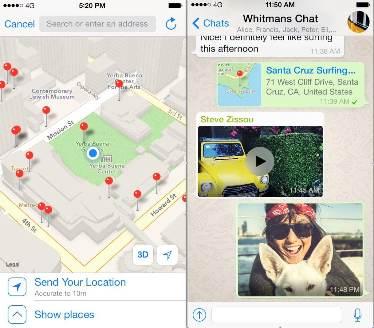 Nachrichten des Messenger-Programms WhatsApp: Die gerade eingeführte Verschlüsselung will Großbritanniens Premier Cameron verbieten.