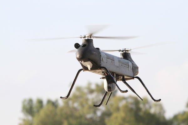 Der Ghost Rotary Mini vonIsrael Aerospace Industries: IAI zählt zu den wichtigsten israelischen Drohnenproduzenten.
