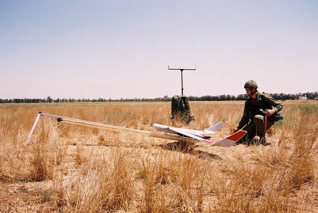 Die Drohne Orbiter 4c vonAeronautic Defence Systems.
