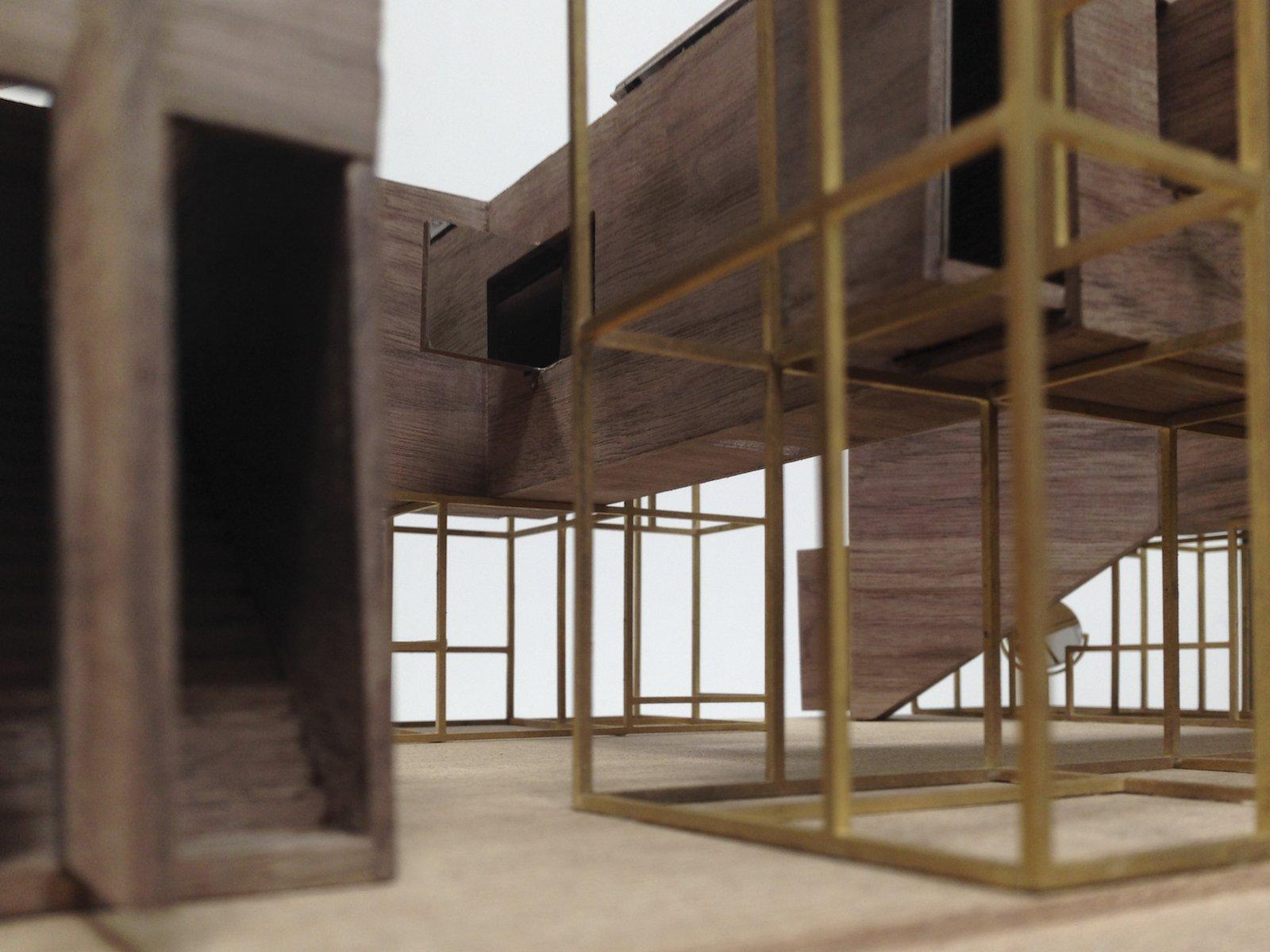 """Entwurf zum Thema """"das Haus"""" von Neri & Hu."""