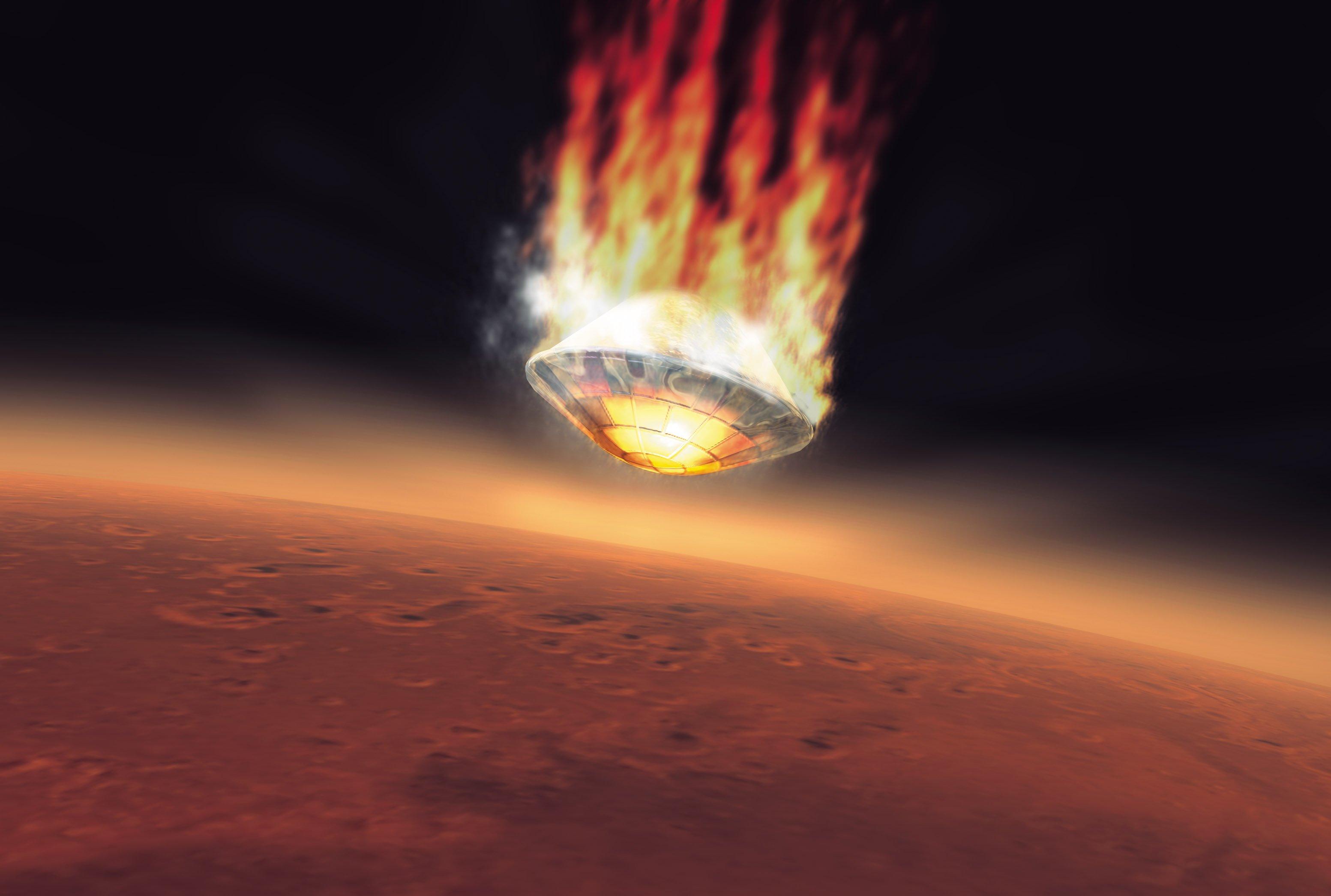 Am 25. Dezember 2003 landete die ESA-Sonde