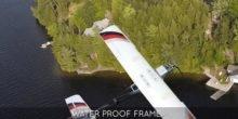 Drohnen nehmen Wasserproben an unzugänglichen Orten