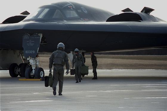 Der B-2 von Northrop Grumman ist bislang der modernste Langstreckenbomber der U.S. Air Force. Sein Nachfolger, der LSR-B, soll nur halb so groß sein und 80 Jahre lang seinen Dienst ausüben.