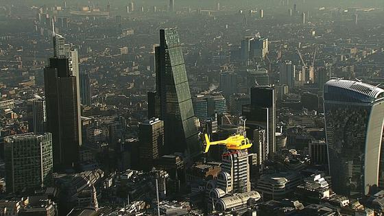 Seit dem 21. Januar 2015 fliegt der DHL-Helikopter, ein Bell 206 Jet Ranger, zwischen der DHL-Hauptumschlagbasis am Flughafen Heathrow und dem Londoner Stadtzentrum seine Einsätze.
