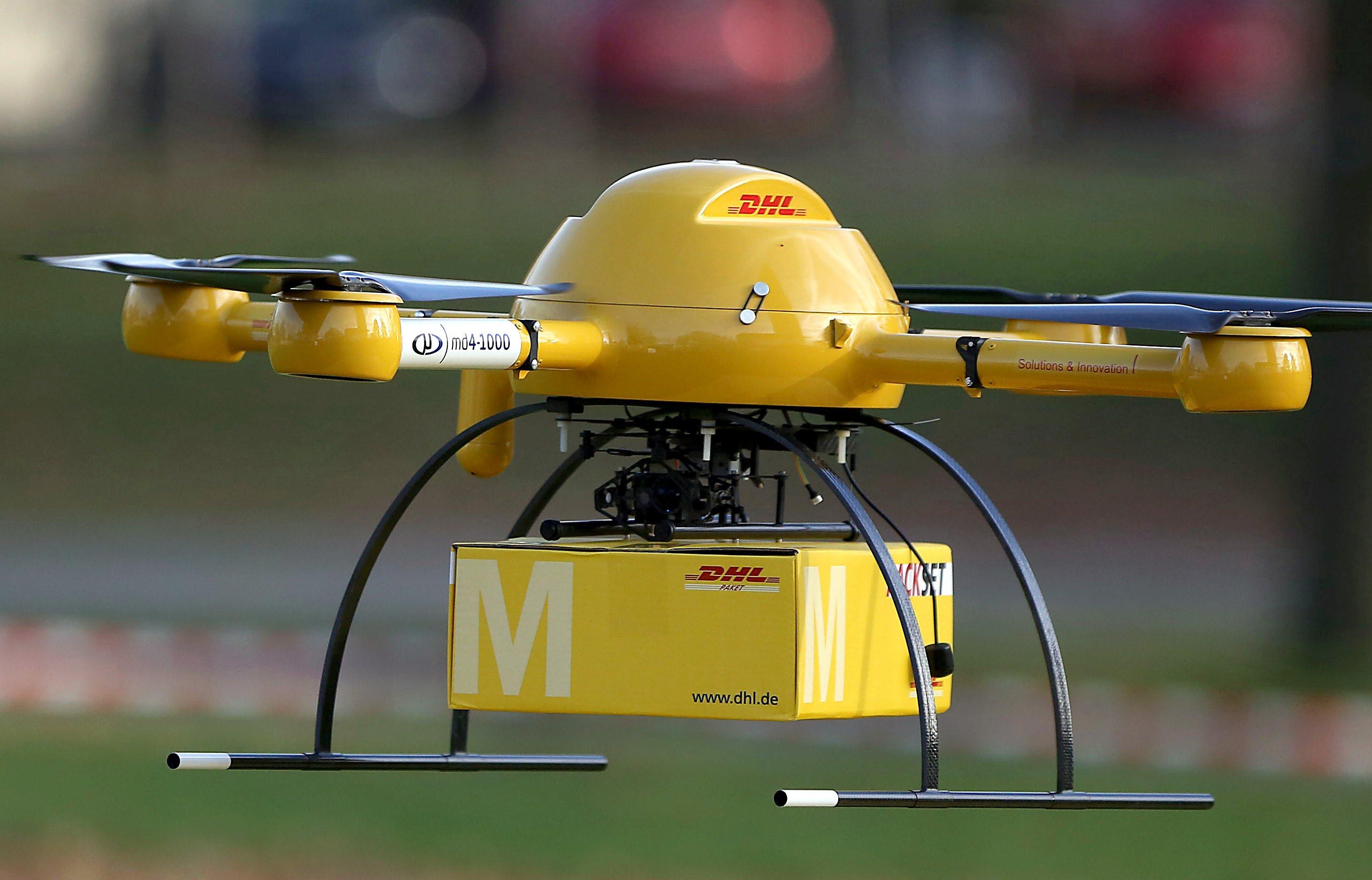 Nicht nur seriöse Unternehmen wie die Deutsche Post DHL testet Drohnen für die Paketzustellung. Kriminelle haben die kleinen unbemannten Flugkörper auch für sich und den Drogenschmuggel entdeckt.