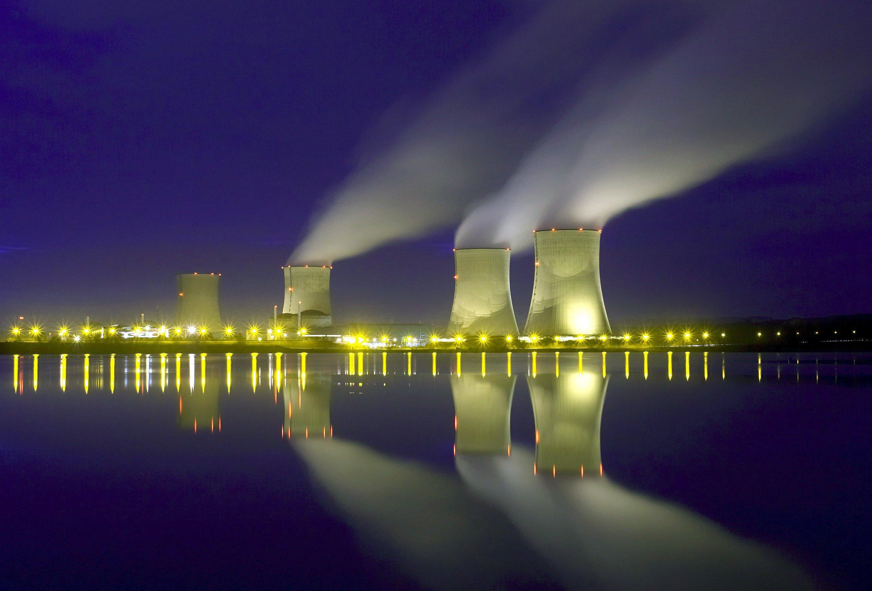 Das französische Atomkraftwerk Cattenom nahe der deutschen Grenze: Auch hier wurden schon Drohnen gesichtet.
