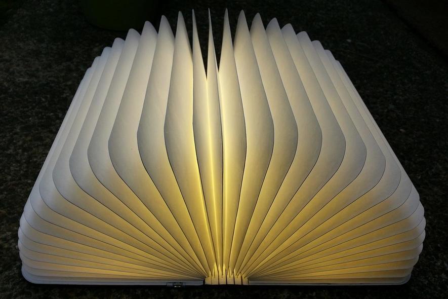 Lumio: Ein Buch zum Leuchten, nicht zum Lesen