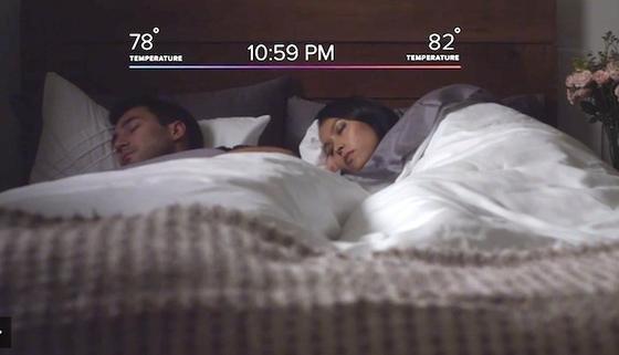 Die smarte Matratzenauflage Luna heizt das Bett, kennt die Schlafgewohnheiten der Nutzer, schaltet das Licht aus und schließt die Haustüre.
