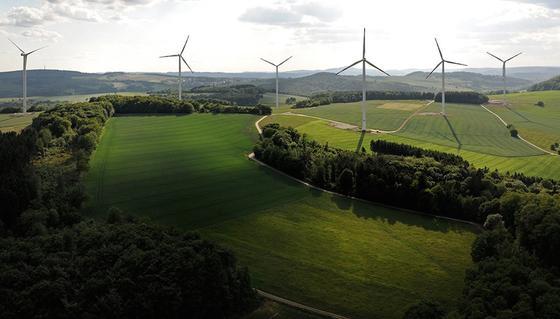 Windkraft an Land konnte im Jahr 2014 deutliche Zuwächse verzeichnen.