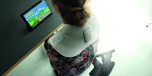 Von Computerspiel animiert: Fitness-Übungen vor dem Bildschirm