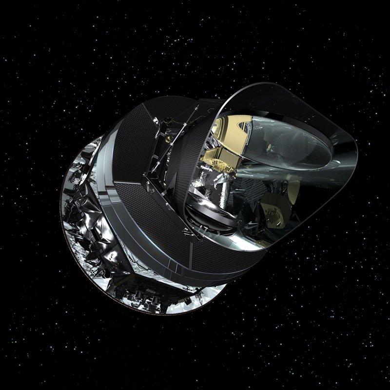 Nachdem Forscher die Aufnahmen des 2012 in den Ruhestand gegangenen Planck-Teleskopsausgewertet hatten, stand für sie fest: Staub aus der Milchstraße hat die Gravitationswellen ausgelöst.
