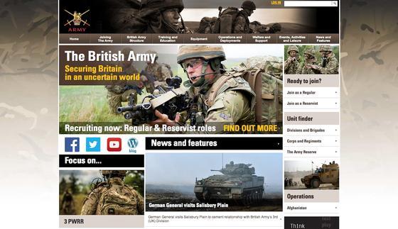 Rüstet sich für den Kampf im Informationszeitalter: Die britische Armee hat ab April 2015 mit der 77. Brigarde eine neue 1.500 Mann starke Spezialeinheit von Facebook-Kriegern.