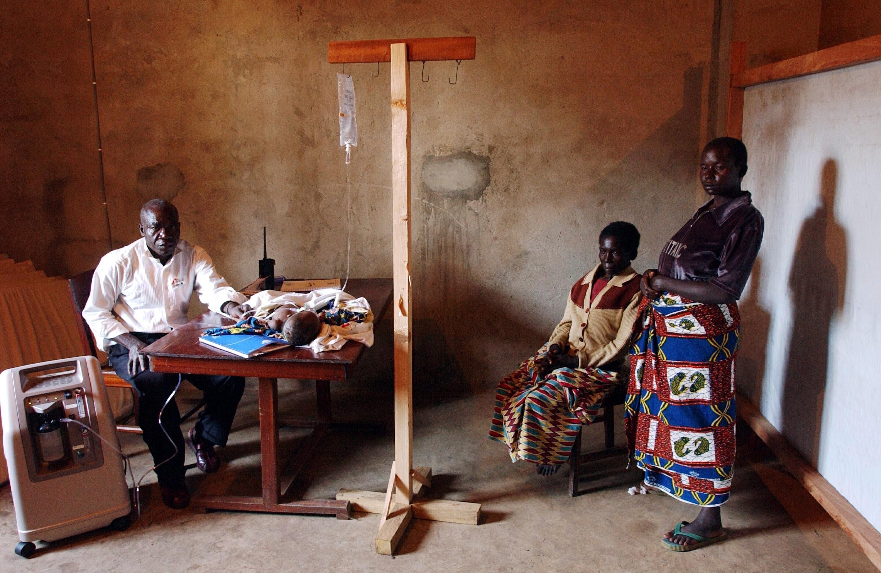 In der Sub-Sahara Afrikas infizieren sich jährlich 1,9 Millionen Menschen neu mit dem HIV-Virus.