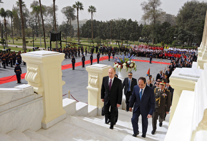 Russlands Präsident Wladimir Putin und sein ägyptischer Kollege Abdel Fattah al-Sisi haben den Bau eines Atomkraftwerkes an der ägyptischen Mittelmeerküste vereinbart.