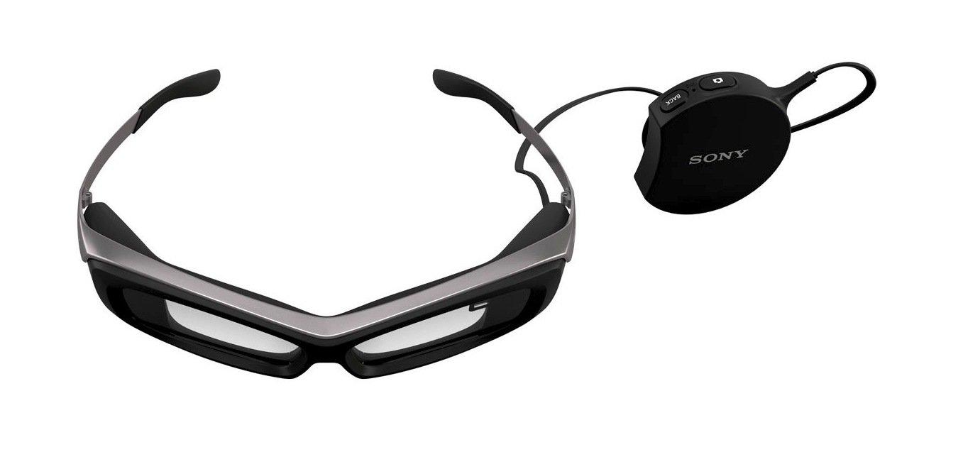 Die Datenbrille SmartEyeglass von Sony kostet rund 800 Euro ist damit nur halb so teuer wie die Konkurrenzbrille von Google.