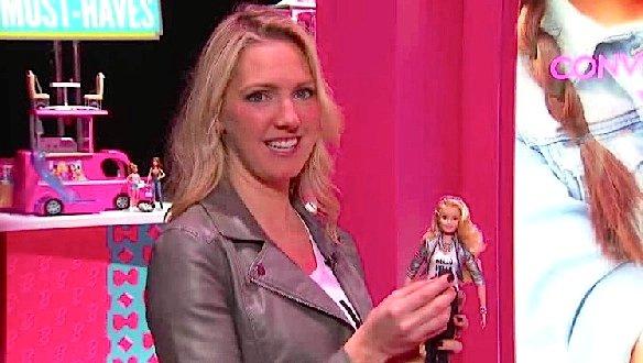 Wurde gerade auf der Spielzeugmesse in New York vorgestellt: die sprechende Puppe