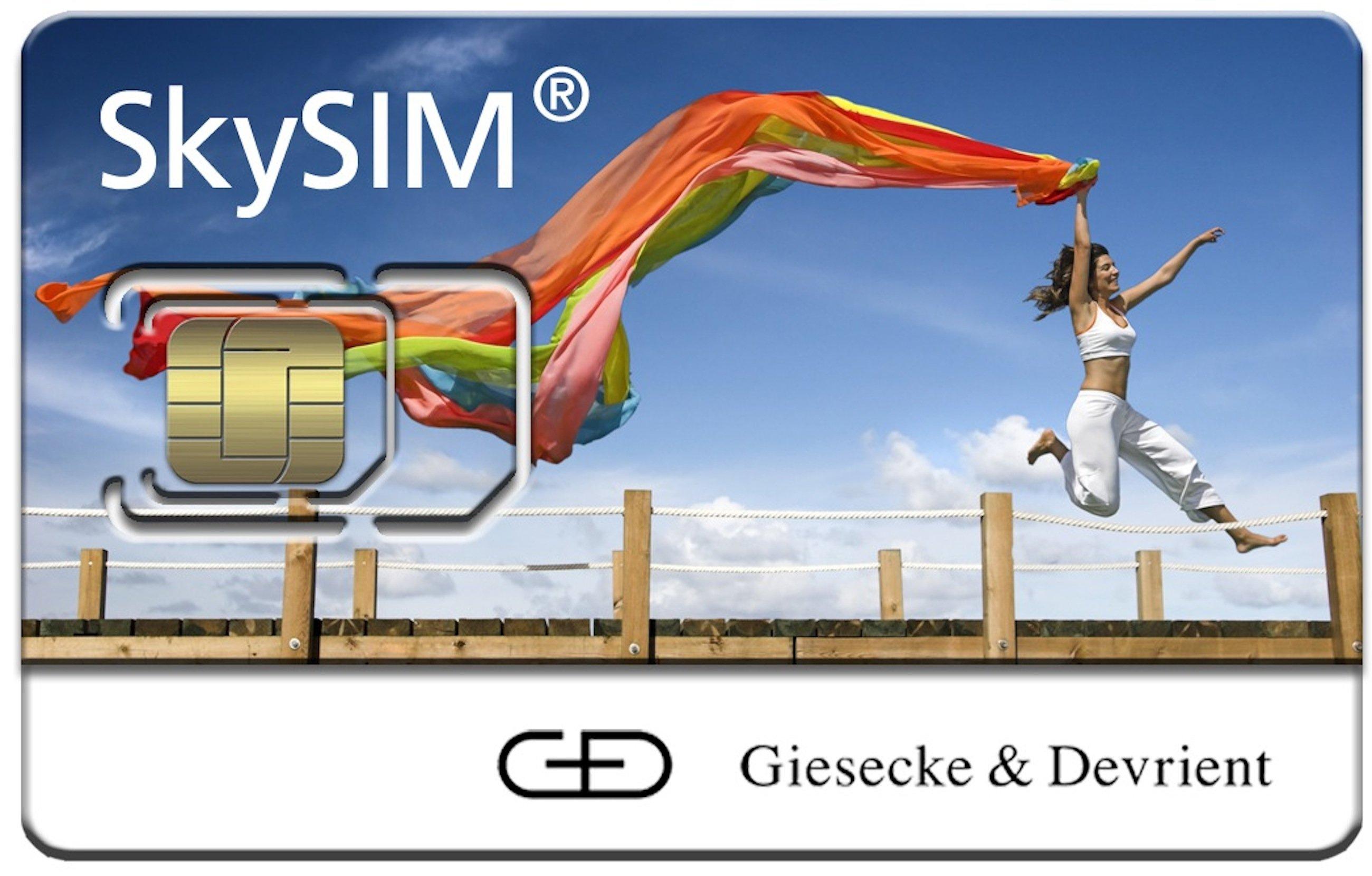 SIM-Karte des deutschen HerstellersGiesecke & Devrient: Offenbar konnten die GeheimdiensteNSA und GCHQ die Verschlüsselung von Millionen von SIM-Karten knacken und können nun ungestört mitlesen und mithören.