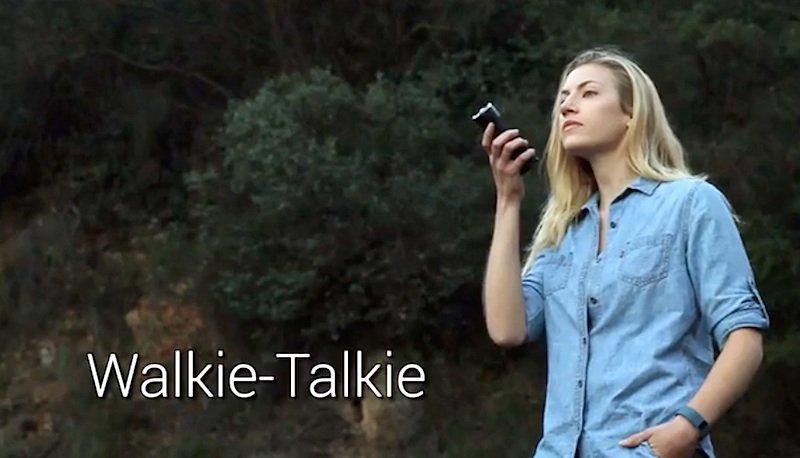 Kostet extra: Fogo mit Walkie-Talkie-Funktion.