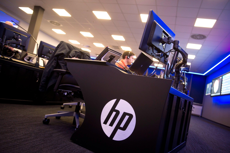 Cyberabwehr-Center von HP in Boeblingen: Um die IT-Sicherheit will sich die Deutsche Bank auch in Zukunft selbst kümmern. Ansonsten übernimmt HP für die nächsten zehn Jahre wesentliche Teile der IT-Arbeit für die Deutsche Bank.