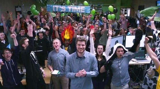Nur 130 ein bisschen verrückte Mitarbeiter hat das Unternehmen Pebble in Palo Alto im Silicon Valley. Die Firma hat schon mehr als eine Million Uhren verkauft.