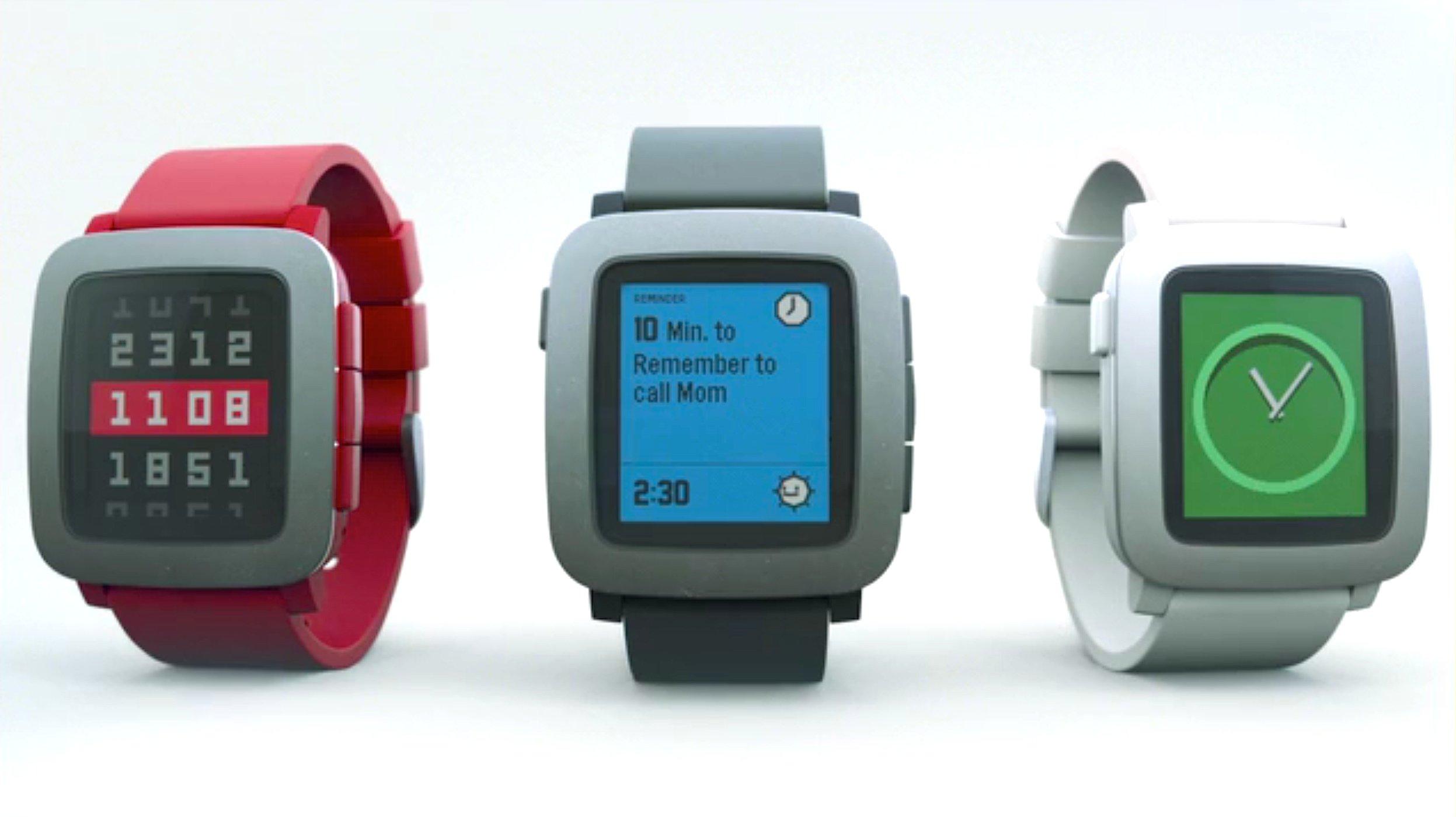 Die Pebble-Watch gibt es jetzt auch in Farbe. Auf Kickstarter hat das junge Unternehmen innerhalb nur eines Tages mehr als 40.000 Uhren verkauft und fast neun Millionen US-Dollar eingenommen.