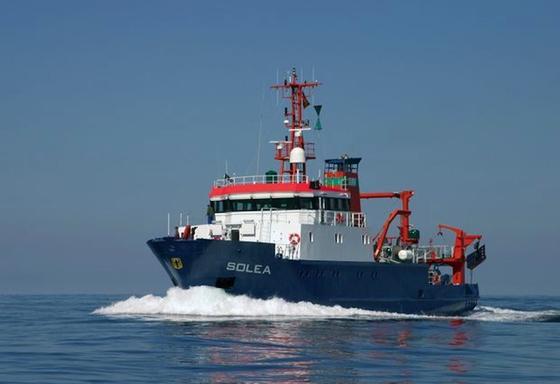 Das Forschungsschiff Solea des Thünen-Instituts: Der Hochseekutter arbeitet mit verschiedenen Netzen, ozeanographischen Sonden und gehört zu den leisesten Vertretern seiner Art.