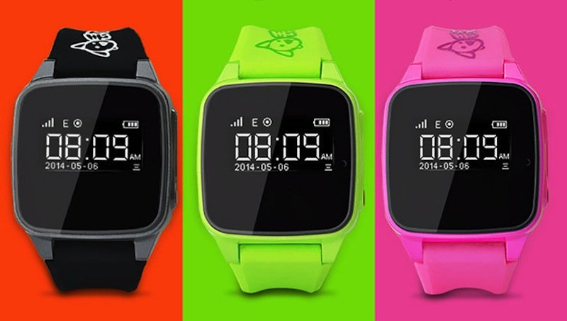 Auf den ersten Blick sehen die Uhren recht unscheinbar aus. Sie kommunizieren jedoch mit Smartphones und schicken diesen GPS-Daten des Trägers.