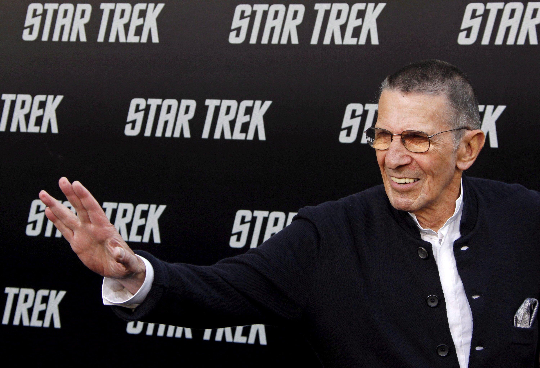 Leonard Nimoy 2009 bei der Premiere des Films Star Trek in Hollywood. Kurz vor seinem 84. Geburtstag ist der Schauspieler an den Folgen einer chronischen Lungenerkrankung gestorben.