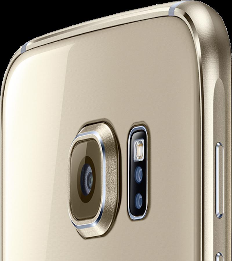Die Kamera auf der Rückseite besitzt eine Auflösung von 16 Megapixel. Die Frontkamera mit fünf Megapixel hat einen für Selfies idealen Weitwinkel und öffnet sich nach einem Doppeltipp auf den Home-Button.