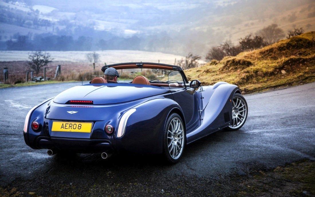 Der Morgan Aero 8 kostet bis zu 170.000 Euro und wird von einem 4,8-Liter-Motor von BMW angetrieben.