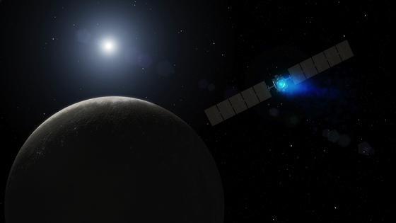 Die amerikanische Raumsonde Dawn wird am 6. März 2015 in eine Umlaufbahn des Zwergplaneten Ceres einbiegen. Mit der Dawn-Mission werden zum ersten Mal nacheinander zwei Himmelskörper angesteuert und aus dem Orbit erforscht. Acht Jahre lang war Dawn bis zum Zwergplaneten Ceres unterwegs.