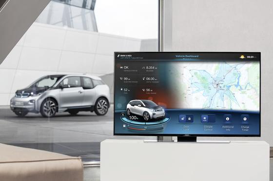 BMW i3 vernetzt mit dem heimischen Computer: BMW und Apple sprechen derzeit intensiv über eine Kooperation.