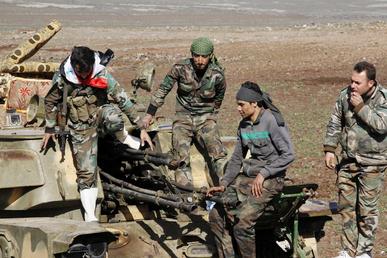 Syrische Armee: Seit Anfang 2011 herrscht in Syrien Bürgerkrieg.
