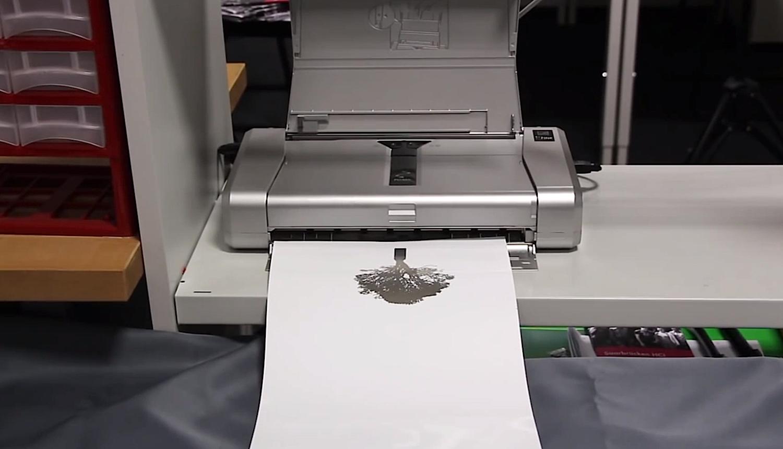 Die Displays sollen sich mit einem Standarddrucker ausdrucken lassen. Der Anwender benötigt dafür allerdings eine elektrische leitfähige Spezialtinte.