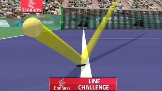 Bekannt ist die Technik des Hawk-Eyes aus dem Tennis. Allerdings hält der Tennis-Profi Roger Federer die Technik für zu ungenau.
