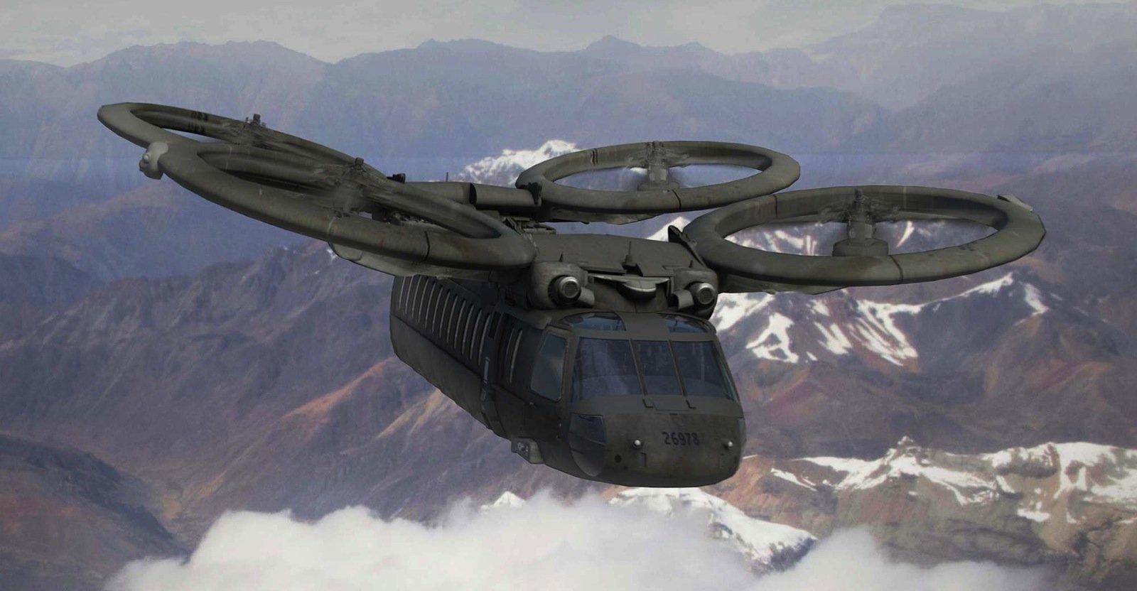 So wird die nächste Helikopter-Generation der US Army wohl nicht aussehen. Das Pentagon hat sich für andere Konzepte entschieden.