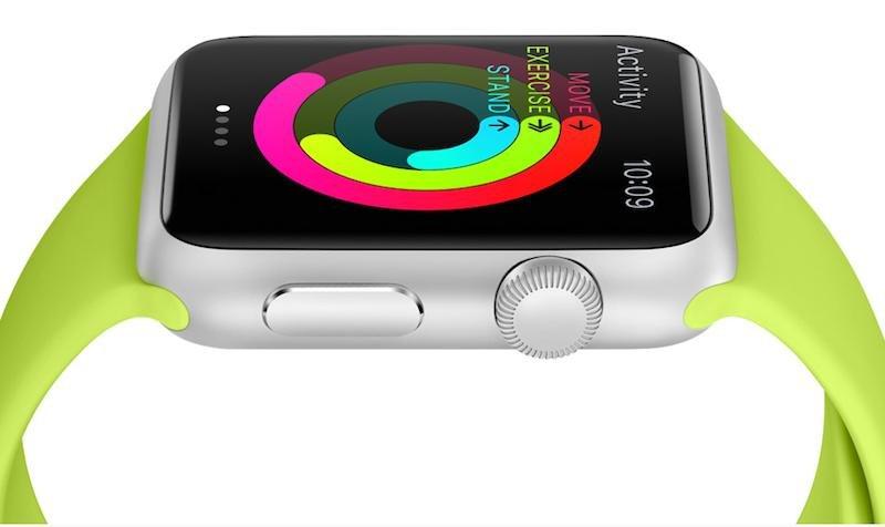 Einstiegsmodell der Apple-Uhren: die Apple Watch Sport im Aluminiumgehäuse. Sie kommt in Deutschland für 399 Euro auf den Markt.