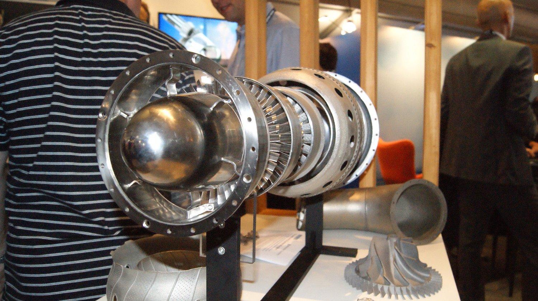 Dem 3D-Druck ging ein Jahr Planungsarbeit voraus. Denn das Saphir-Triebwerk für den Business-Jet Dassault Falcon 20 ist alt – es existieren kaum digitale Baupläne.