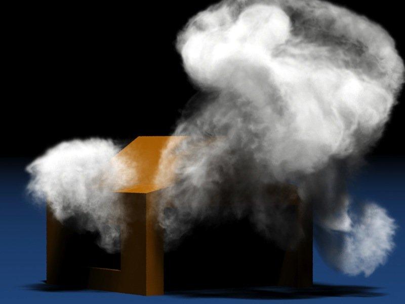 Die Simulation von bewegtem Rauch zählt bislang zu den Königsdisziplinen der Trickfilm-Animatoren – Produzenten mit kleinem Budget haben in puncto Qualität oft das Nachsehen. Ändern soll das die Software der TU München.