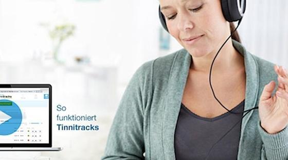 """Das deutsche Start-up """"Tinnitracks"""" hat eine gleichnamige Software entwickelt, die Tinnitus-Patienten mit ihrer eigenen Lieblingsmusik therapiert. In den USA hat das Unternehmen damit jetzt einen Gründerwettbewerb gewonnen."""
