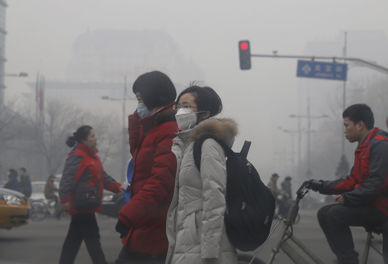 Würden die Temperaturen in Peking sinken, hätten die Klimaanlagen in Gebäuden weniger zu tun. Täglich ließen sich bis zu 14 Millionen Kilowattstunden Strom einsparen, behaupten die Forscher.