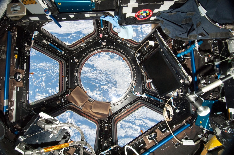 Innenraum der ISS: Wird die kosmische Strahlung innerhalb eines Jahres das Ergbut von Scott Kelly verändern? Wie wird sich der veränderte Schädelinnendruck auf das logische Denken auswirken?