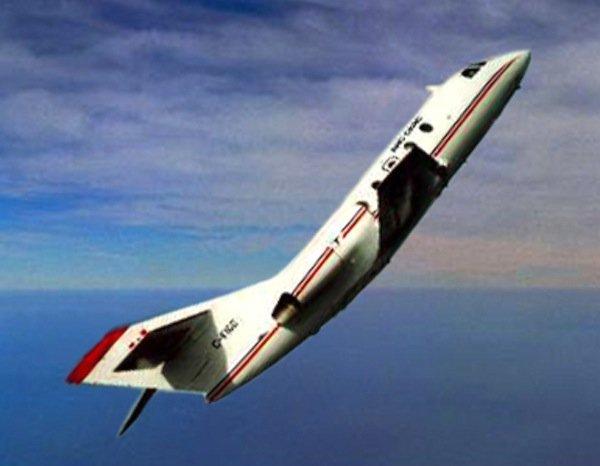 Nach einem steilen Steigflug erreicht die Parabelflug-Maschine für gut 20 Sekunden eine Phase der Schwerelosigkeit.
