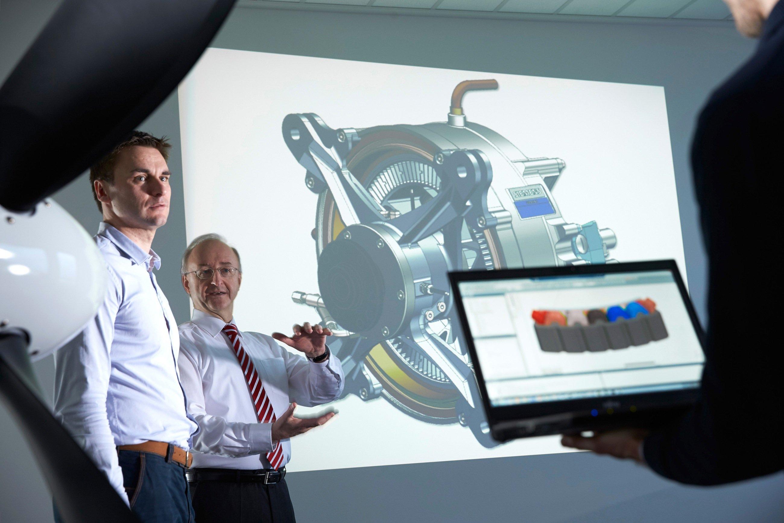 Für die Schlankheitskur von Motorkomponenten haben die Leichtbau-Experten einen eigenen Optimierungsalgorithmus entwickelt und in das CAD-Programm NX Nastran von Siemens integriert.
