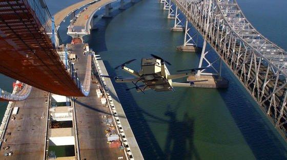 Das MIT-Start-up Top Flight TechnologiesausMassachusetts hat einen Hybridantrieb für Drohnen entwickelt, der die Reichweite auf 160 Kilometer verlängern soll.