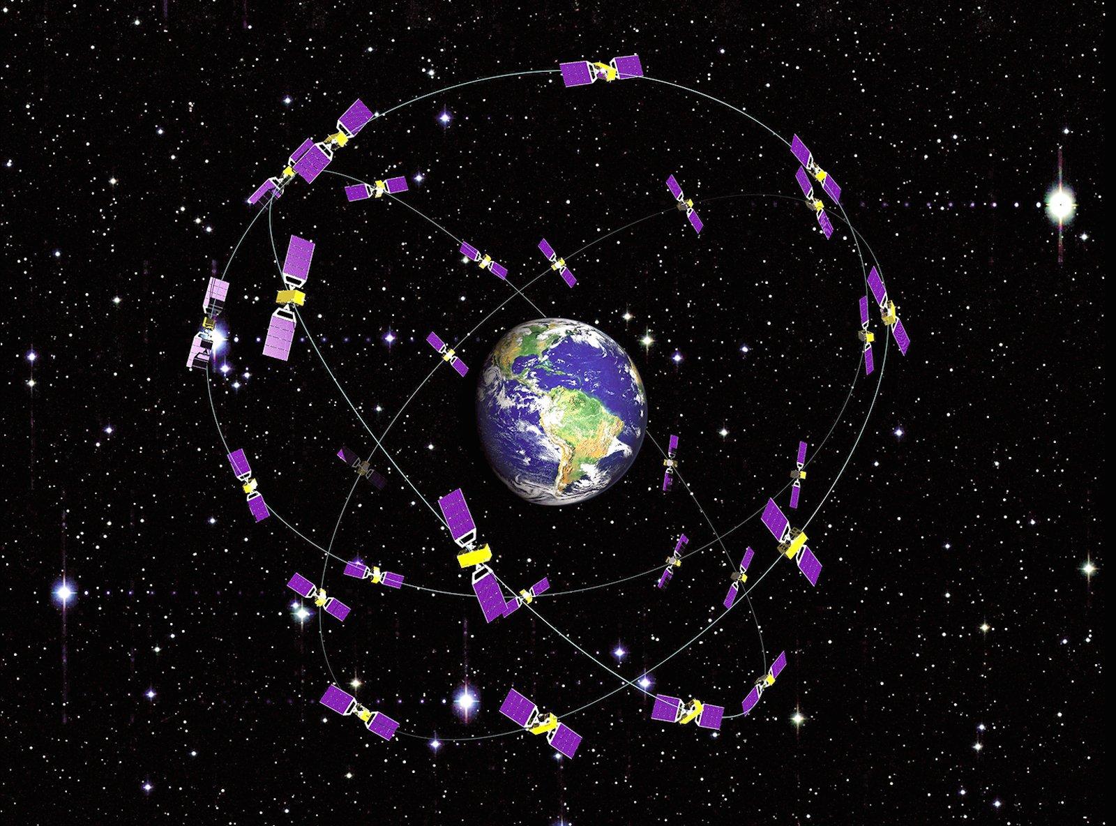 Voll ausgebaut besteht das Galileo-System aus einer Konstellation von 30 Satelliten.